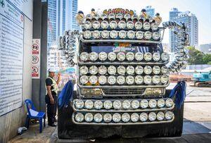 عکس/ کامیونی خاص در تایلند