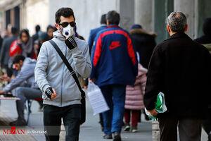 عکس/ تهران همچنان در شرایط ناسالم