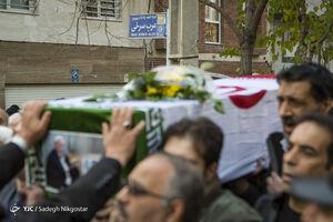 تشییع پیکر پدر شهیدان«عرب سرخی»