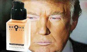 راز پوست نارنجی ترامپ کشف شد