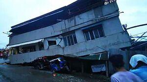 عکس/ زمین لرزه مرگبار در فیلیپین