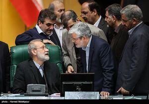لاریجانی: استعفای صادقی به هیئترئیسه مجلس نرسیده است