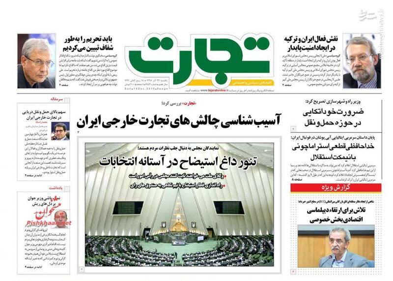 تجارت: آسیب شناسی چالشهای تجارت خارجی ایران