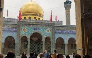 اولین کاروان زائران ایرانی در دمشق بعد از نابودی داعش +عکس