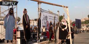 انتقام از «ترامپ» و متحدان منطقهای آمریکا به شیوه عراقیها +فیلم