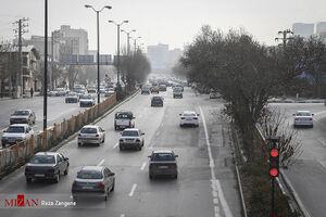 آلودگی هوای پایتخت همچنان در وضعیت قرمز