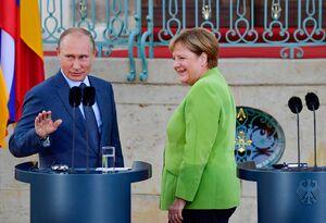 ادامه مذاکرات روسیه و آلمان با وجود هشدارهای ترامپ
