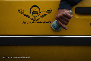 عکس/ زندگی پشت فرمان زرد