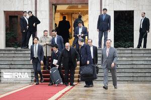 همراهان روحانی در سفر به ژاپن