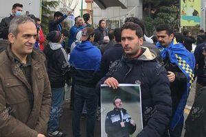 عکس/تجمع هواداران استقلال مقابل وزارتورزش
