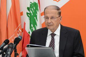 هشدار رئیسجمهور لبنان درباره نقض حریم آبی این کشور