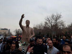 رونمایی از تندیس ناصر حجازی با حضور خانوادهاش +عکس و فیلم