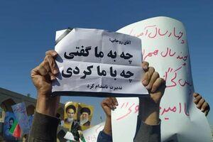 گزارش BBC از رابطه معنادار آرای روحانی با شدت اعتراضات