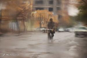 آبگرفتگی معابر در کرمان