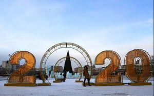عکس/ جشنواره مجسمههای یخی