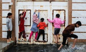 فیلم/ ارتفاع سیل فاضلاب در کوت عبدالله