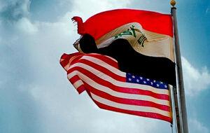 پرچم نمایه آمریکا و عراق