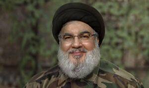 سید حسن نصرالله لباس نظامی بر تن کرد +عکس