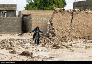 عکس/ خسارات سیل در لامرد فارس