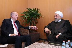 دیدار روسای جمهور ایران و ترکیه