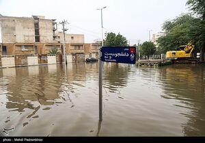 فیلم/ عملیات تخلیه آب و فاضلاب از محلات مسکونی اهواز