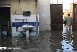 عکس/ سیل فاضلاب در کوت عبدالله؛ چهار روز بعد از بارندگی