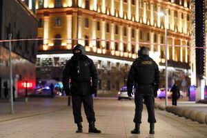 عکس/ تیراندازی در نزدیکی ساختمان امنیت فدرال روسیه