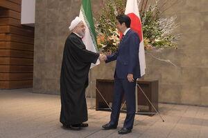 عکس/ دیدار دکتر روحانی با نخست وزیر ژاپن