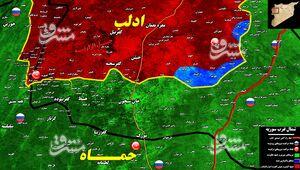 طوفان نیروهای ارتش سوریه در آخرین پایگاه تحت اشغال تروریستها/ پاکسازی ۱۰ شهرک در کمتر از ۲۴ ساعت + نقشه میدانی و عکس