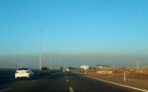 تصویری متفاوت از هوای آلوده تهران