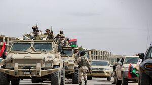 آخرین تحولات میدانی لیبی؛ به صدا درآمدن آژیر خطر برای نیروهای تحت فرمان ترکیه و قطر در پایتخت + نقشه میدانی و عکس