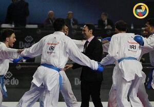 کاراته ایران - شهرام هروی