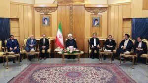 روحانی: ژاپنیها و ما برای شکستن تحریمها پیشنهاد جدیدی داشتیم