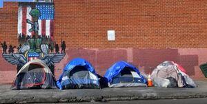 بحران بیخانمانها در کالیفرنیا به سطح هشدار رسیده است