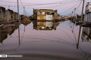 عکس/ اهواز همچنان در محاصره آب
