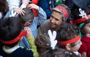 عکس/ بازدید همسر بشار اسد از مدارس ارامنه