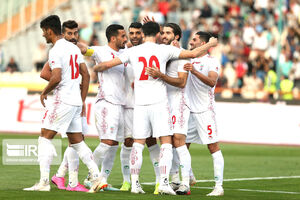 تاریخ دیدار دوستانه ایران مقابل عمان