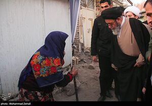 عکس/ بازدید آل هاشم از مناطق زلزله زده میانه