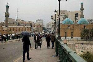 ورودیهای منطقه سبز بغداد بسته شد
