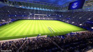 رونمایی از طرح استادیوم جدید اورتون +عکس
