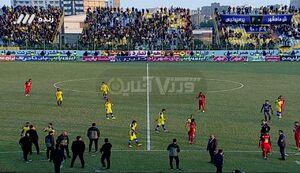 توقف بازی پرسپولیس و شهرداری ماهشهر
