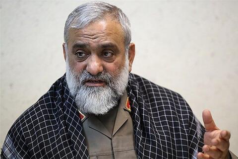 فیلم/ تشریح پذیرش قطعنامه ۵۹۸ از زبان سردار نقدی