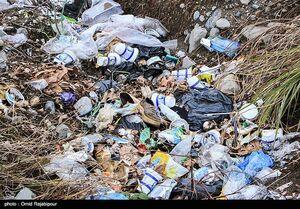 عکس/ کلاچای گیلان در محاصره زباله