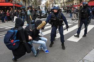 عکس/ ادامه اعتصاب سراسر در فرانسه