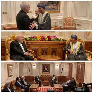 دیدار ظریف با معاون پادشاه عمان