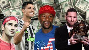 ۱۰ ورزشکار ثروتمند جهان در یک دهه اخیر