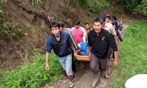 سقوط مرگبار اتوبوس مسافربری در اندونزی