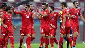 بازیکن بحرین به دلیل رفتار نژادپرستانه ۱۰ جلسه محروم شد +عکس