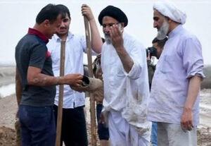 تصویری متفاوت از دو امام جمعه
