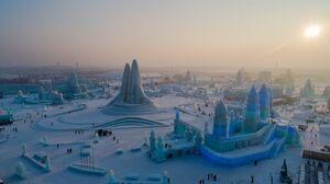 عکس/ جشنواره دیدنی برف و یخ